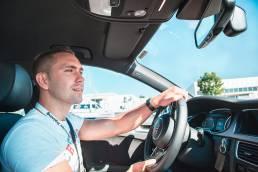 Audi Central Launch Training, Audi Geschäftsbericht © Benjamin Tafel